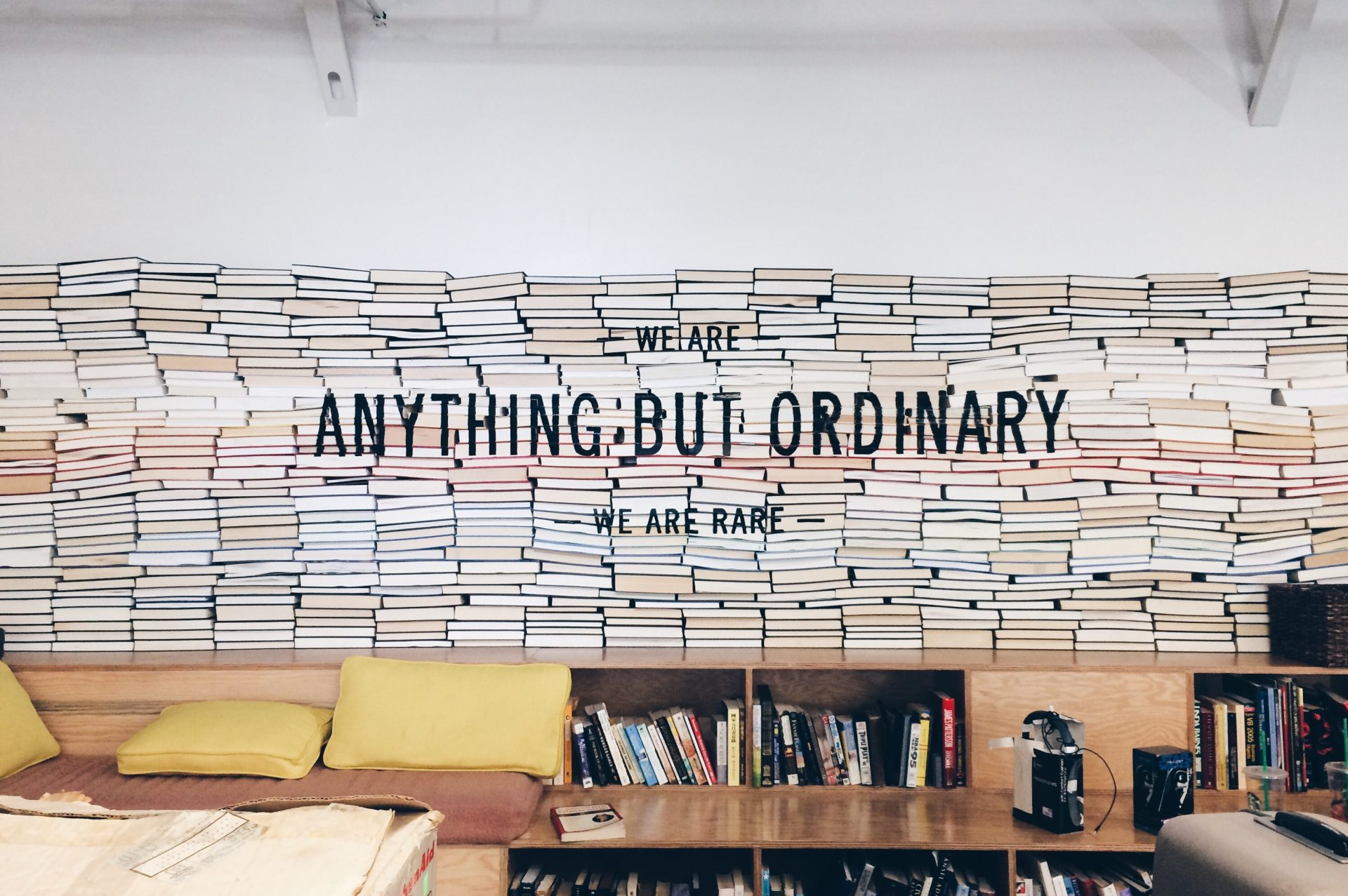 Wall Covered With Books